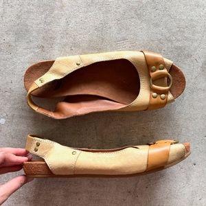 Lucky Brand LK-Valora Elastic Slingback Sandals